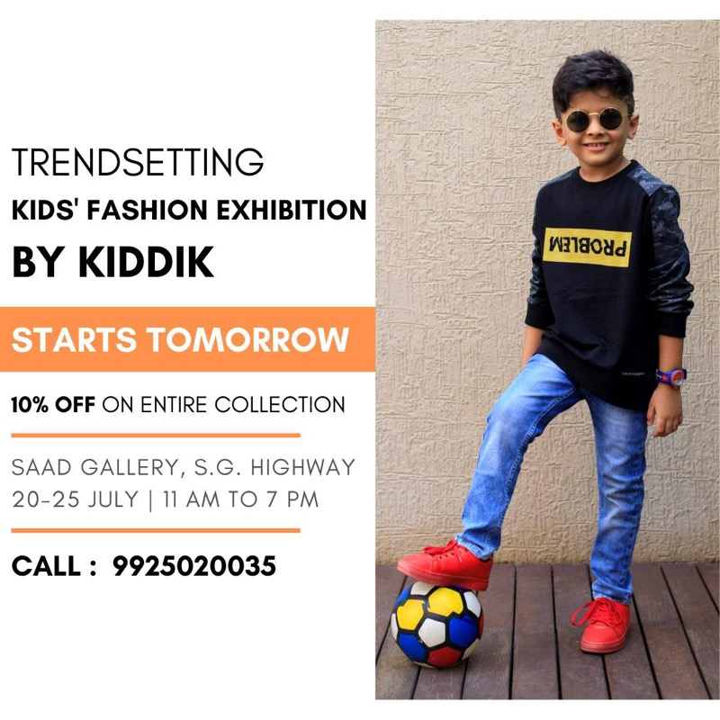 Starts Tomorrow, A 5 Days Fashion Exhibition by Kiddik