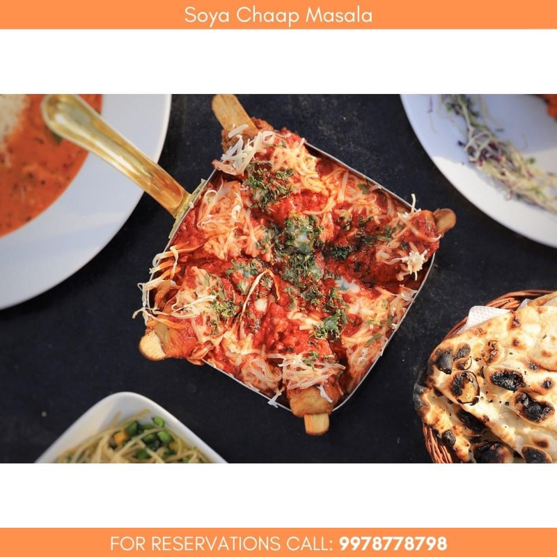 Enjoy unique & delicious food at the highest rooftop of city