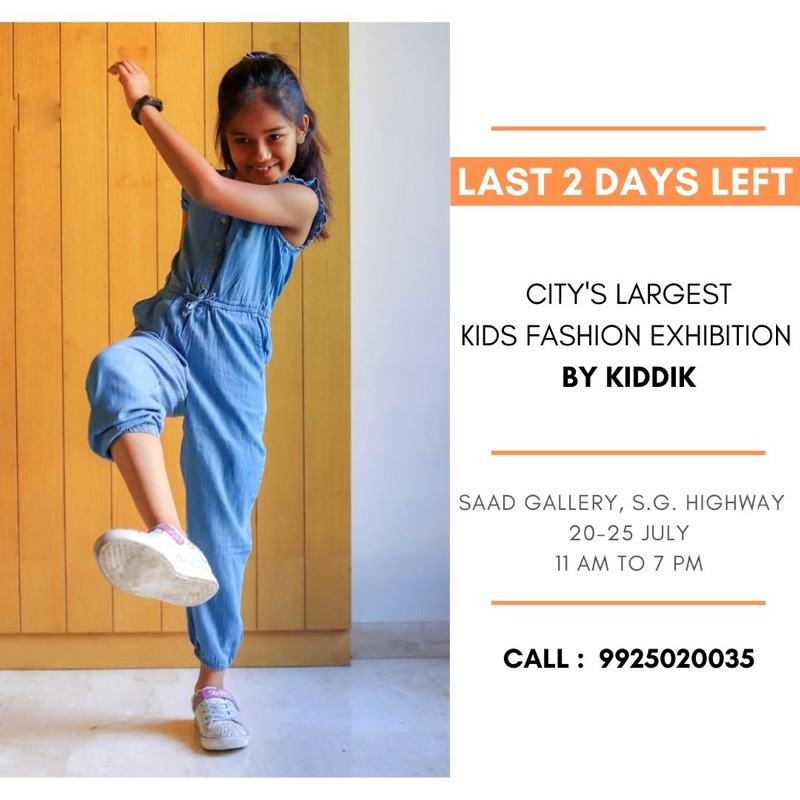 Last 2 days left of city's biggest kids fashion exhibit