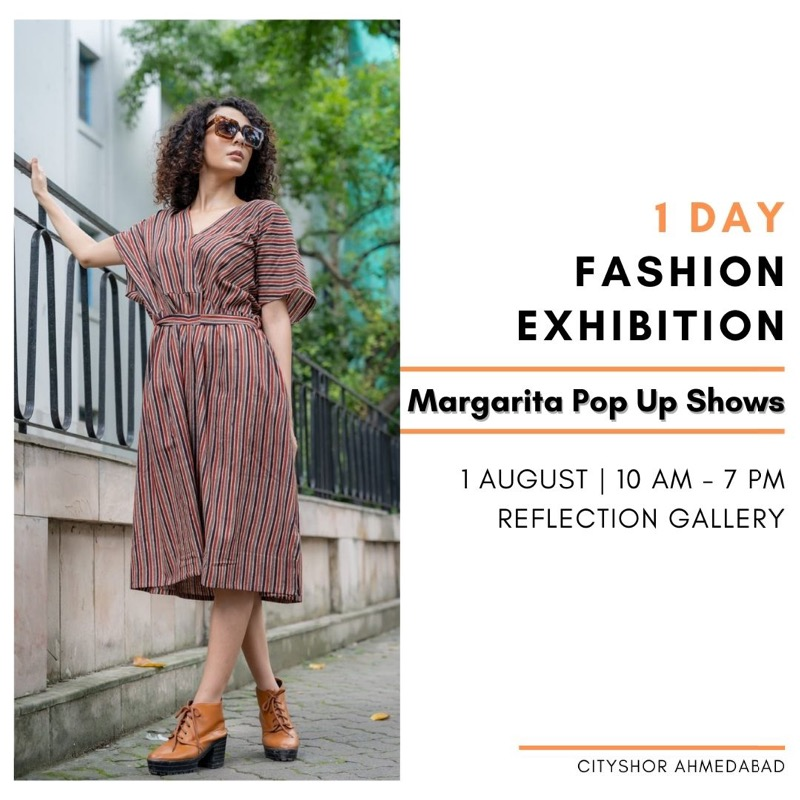 1 Day Fashion Exhibition by Margarita Pop Up