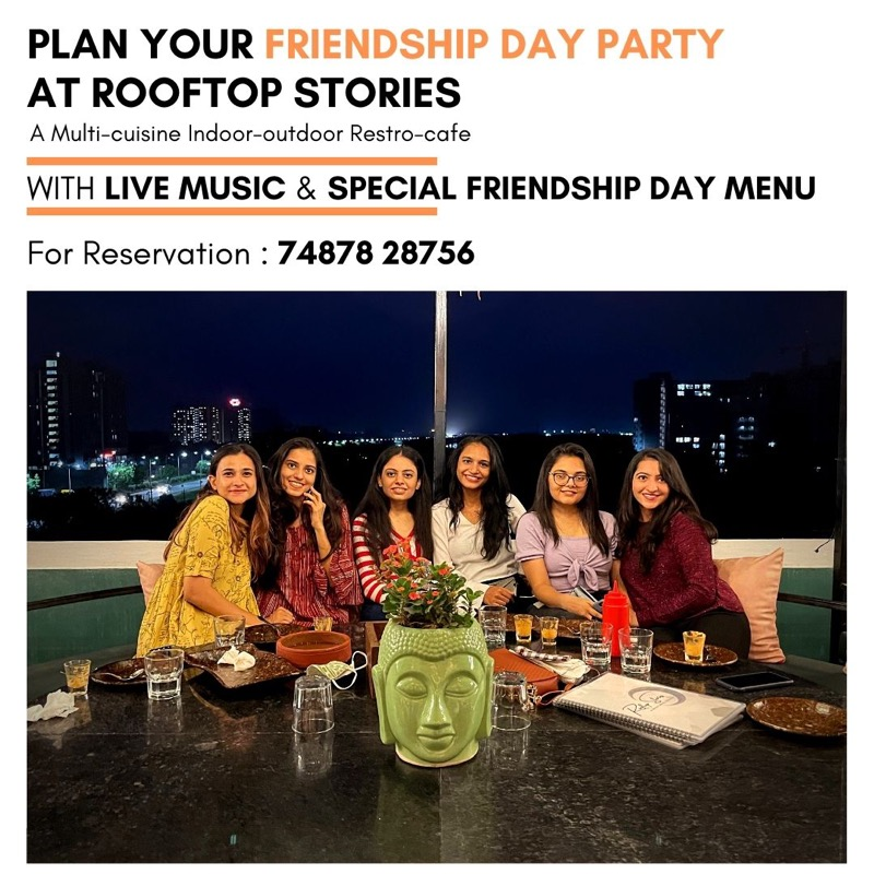 Friendship's Day Special Menu - from mocktails to dessert