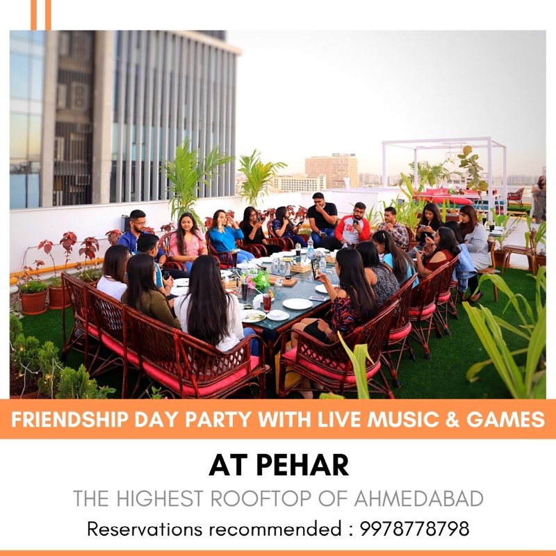 Friendship Day party with live band & party - Pehar