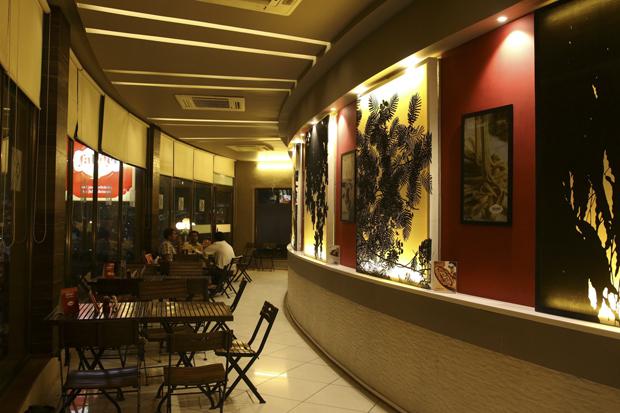 New Falafel Express at Karnavati Club