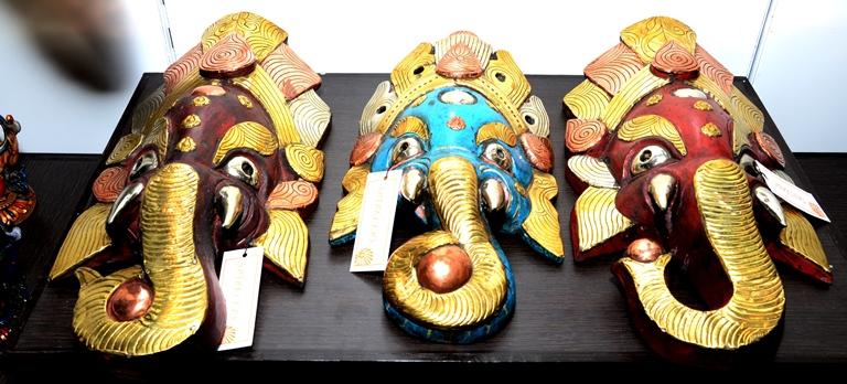 Sparklers exhibition by Priti Sanghai