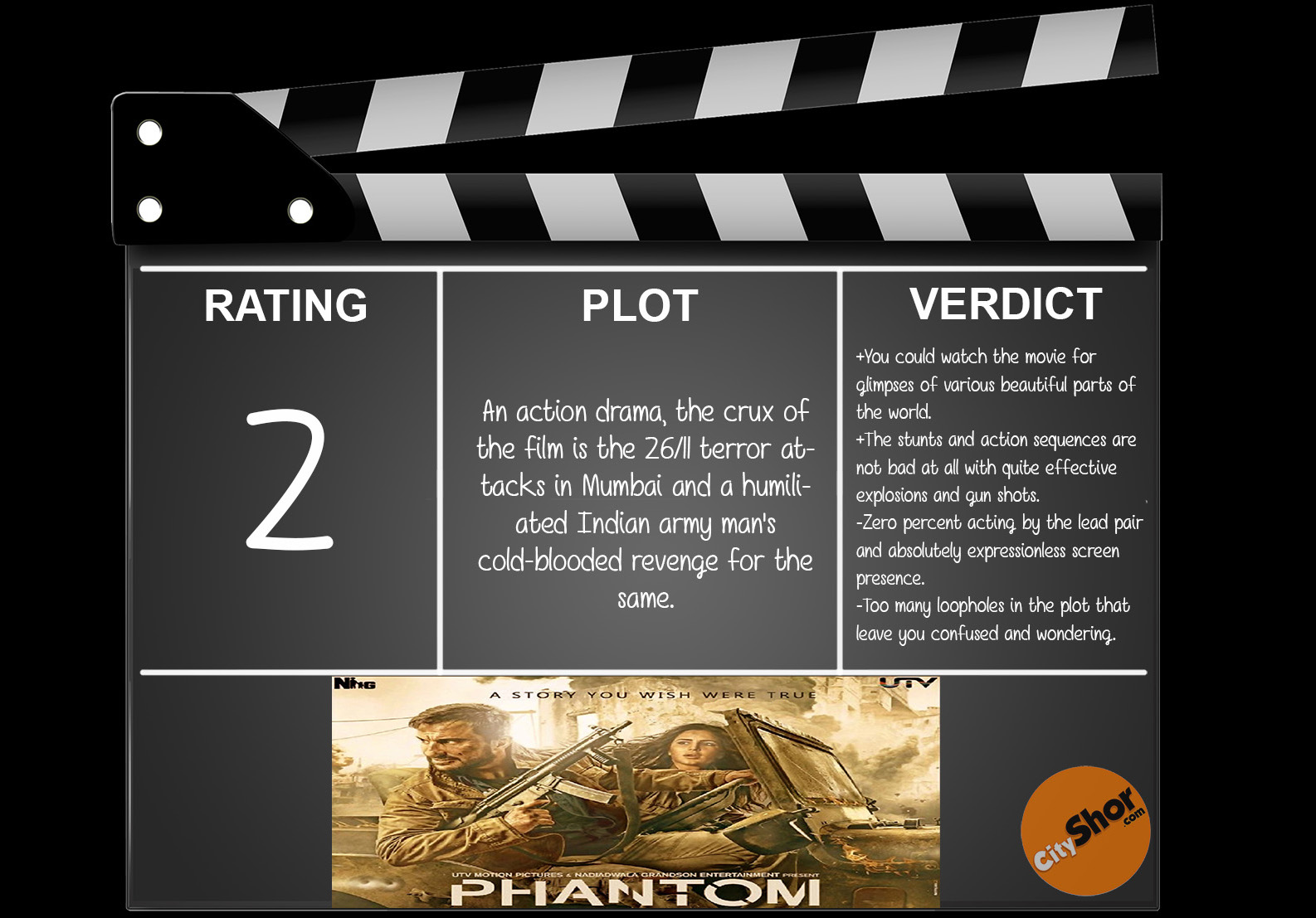 Movie Review - Phantom