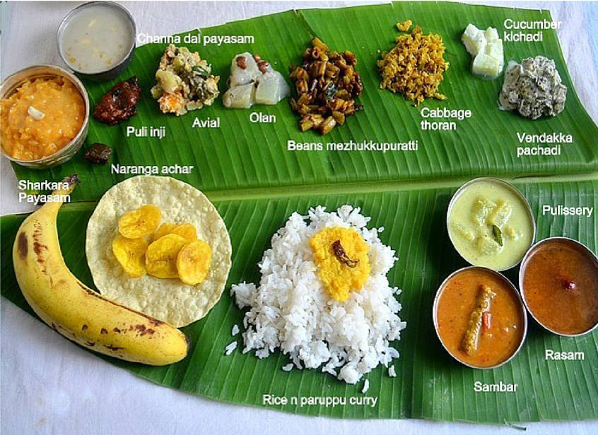 Make this onam a happier one with the sadya at kerra s for Aharam traditional cuisine of tamil nadu