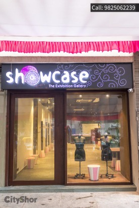 SHOWCASE EXHIBITION GALLERY opened at Prahladnagar