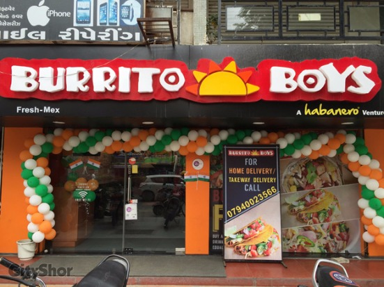 'BUY 1 GET 1 FREE' till 19th August at BURRITO BOYS