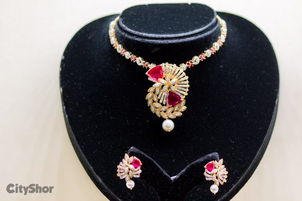 CHARU JEWELS exhibits it's lovely collection at TWF 16