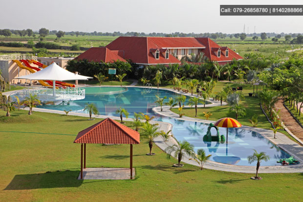 Refresh yourselves at 100 ACRES CLUB RESORT