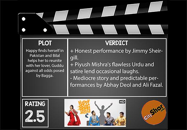 Movie Review - Happy Bhag Jayegi