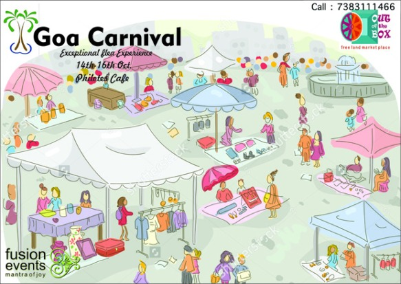 Last few days to get your stall @OUT OF THE BOX Goa Carnival