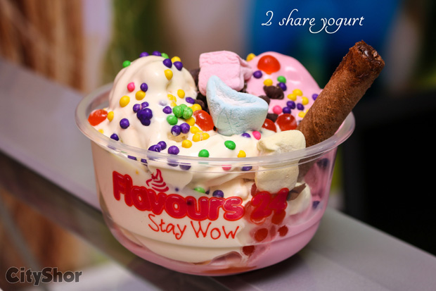 24 healthy flavours of Yoghurt & Ice Cream at FLAVOURS 24