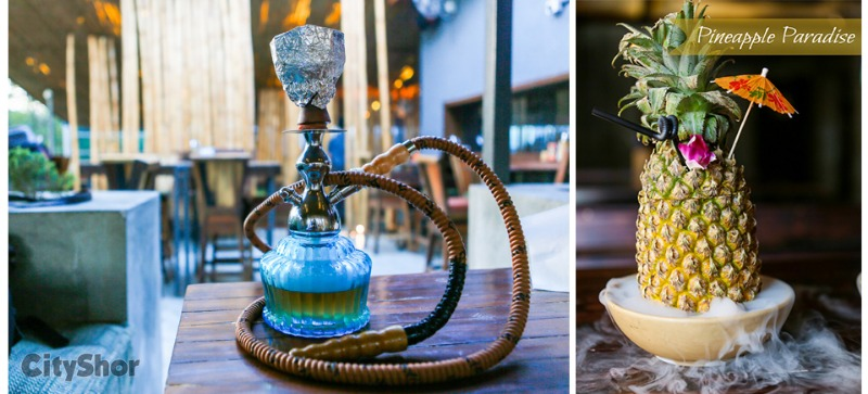 Chilled Drinks Complimenting Flavorful Hookah!