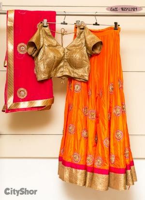 Exclusive Chaniya Cholis, Jewellery & more by NANNIS