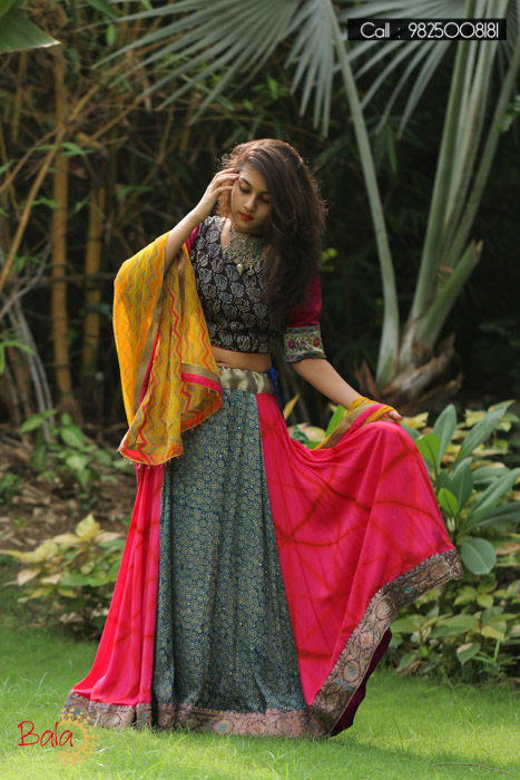 BALA presents AJRAKH: An alluring collection of Lehengas