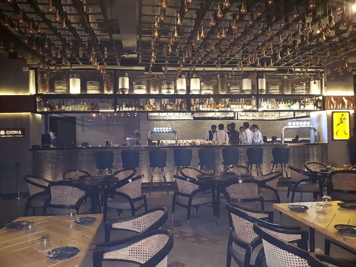 This New Jazzy SoBo Place Serves Food on Pink Himalayan Rock