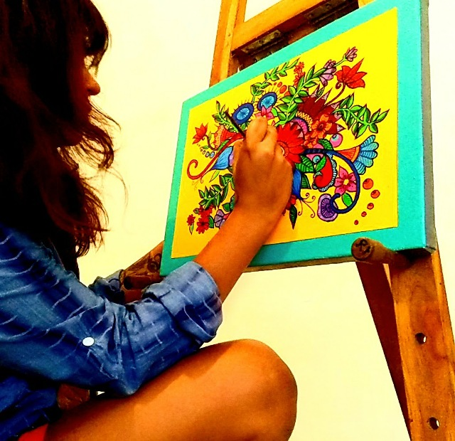 Funk up your Space with Handpainted Goodies of Pyjama Party!