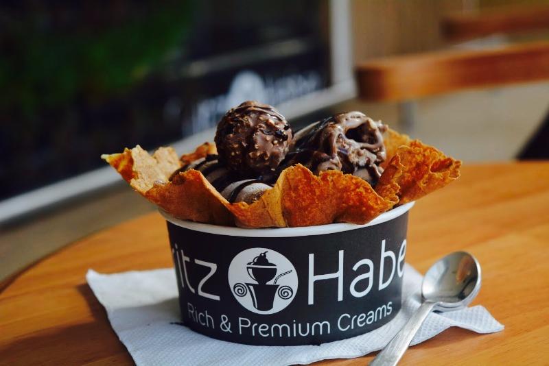 Did someone say Black Ice Cream? Head to FRITZ HABER