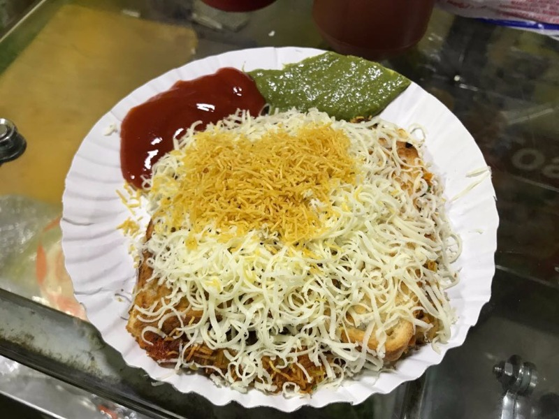 You must try Cheese Toast Sev Puri at this place in Matunga!