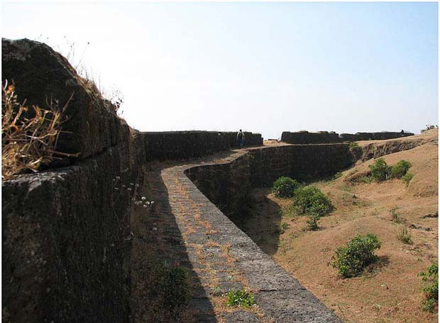 Trek Through A Waterfall To Reach The Scenic View@This Fort!