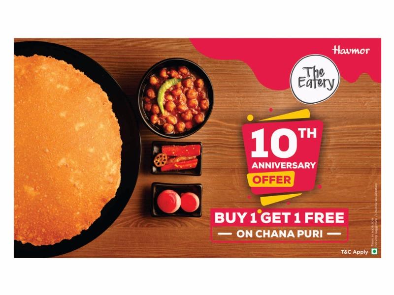 Special offer for 10th Anniversory @ Naranpura Havmor