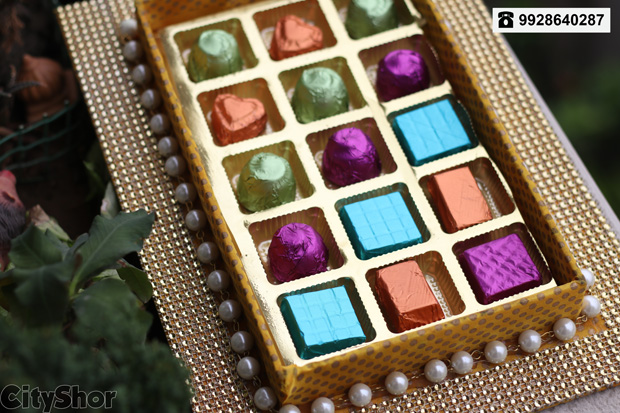 Exotic. Home-made. Chocolates. One. Brand.