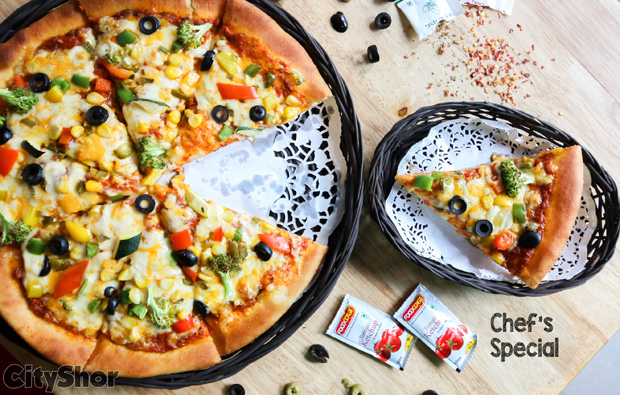 Buy one get one free at this newest Pizza Joint of the City.