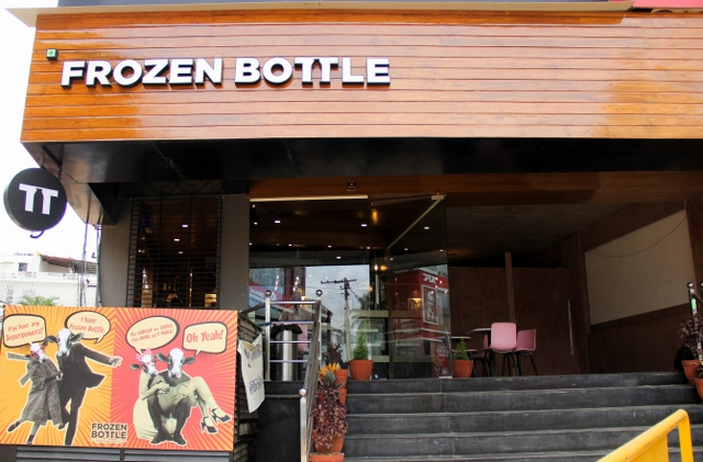 Have your tried the Freeze-Licious Shakes at FROZEN BOTTLE?