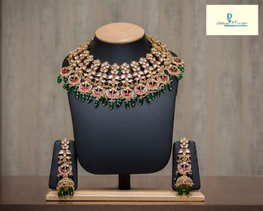 Exquisite Bridal or Special occasion jewelry by Neepa Hiren
