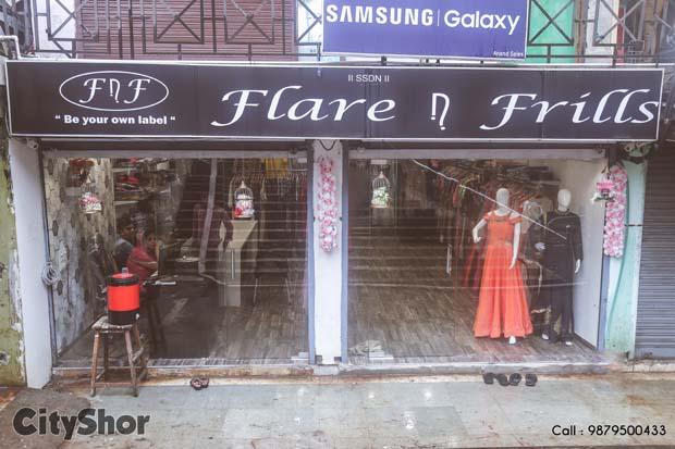 Designer Wear Made Affordable By Flare N Frills!