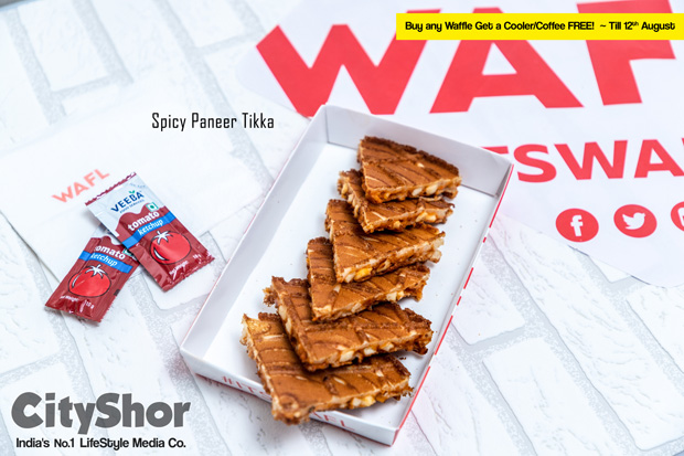 LaunchOFFER Buy any Waffle Get a Cooler/Coffee FREE @ WAFL
