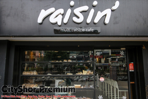 6 Dishes to gorge on @ Raisin with Buy 1 Get 1
