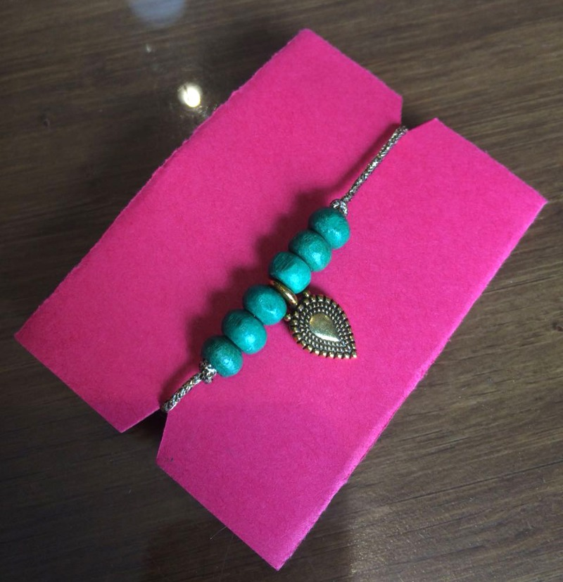 Get your hands on handmade Rakhis from Kitsch by Nik