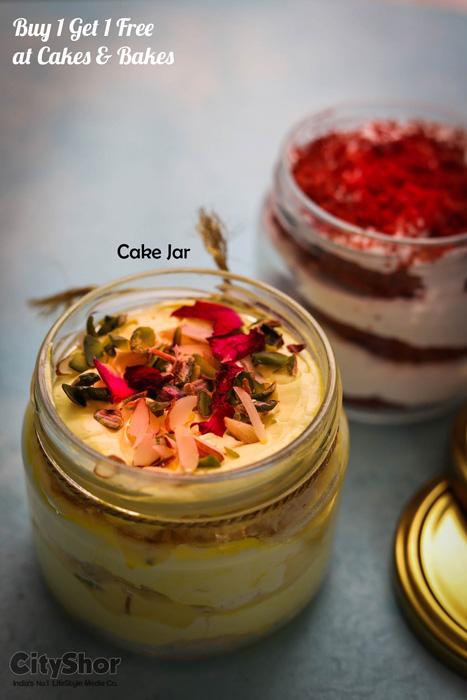 Buy 1 Get 1 Free on cake jars, Pizzas & more @ Cakes n Bakes