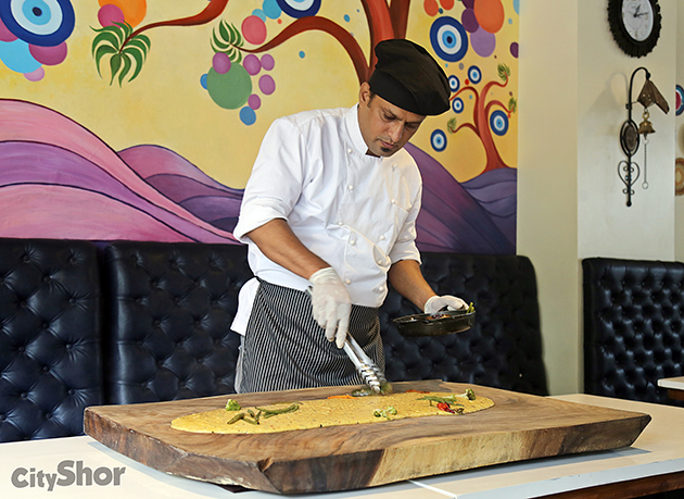 Italian POLENTA TABLE 1st time in India @ Olive.Wheat.Grape