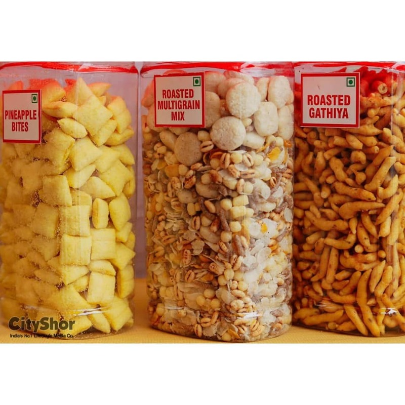 Rakhi Hampers Sweets Namkeens from Sukhadia Garbaddas Bapuji