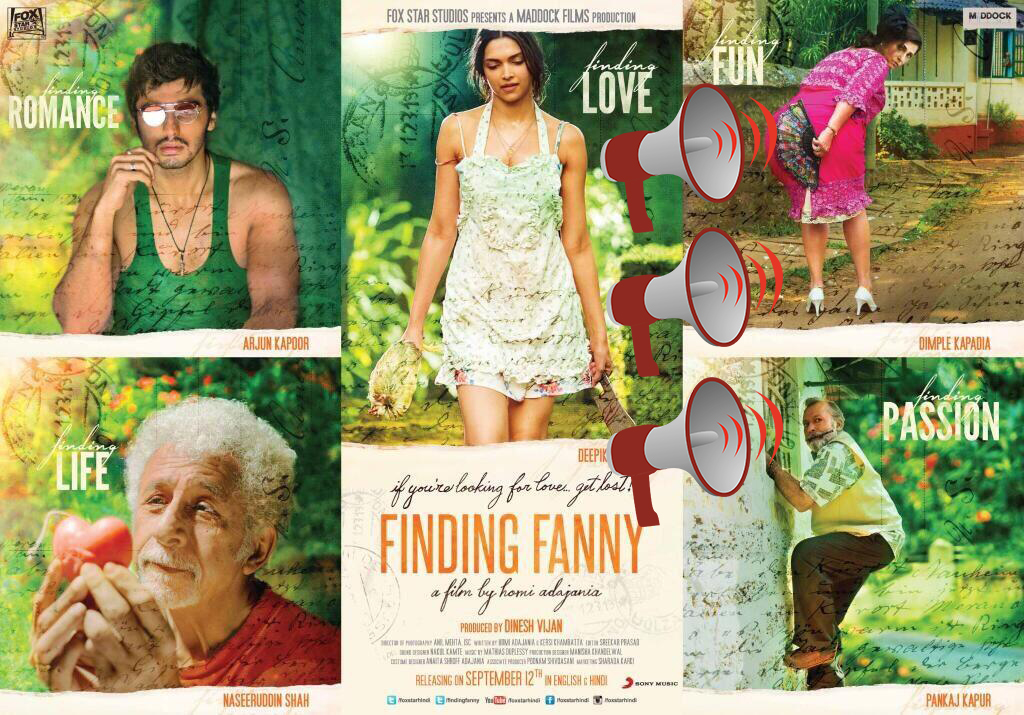 Finding Fanny: Movie Review
