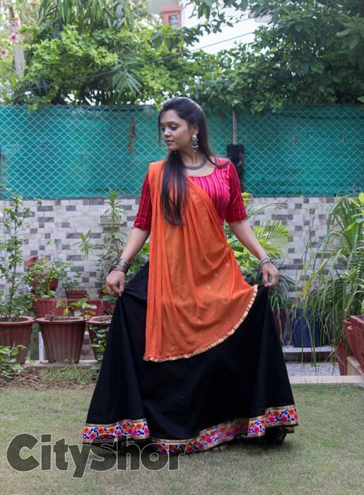 Exclusive Navratri Wear Exhibit by Sanvari Shah