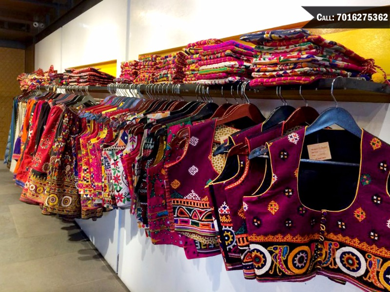 HERITAGE presents lovely Kutchi embroidered lehengas & more