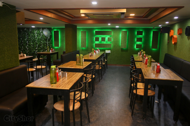 Unlimited Pizzas, Pani-Puri & more at GREENLAND PIZZERIA