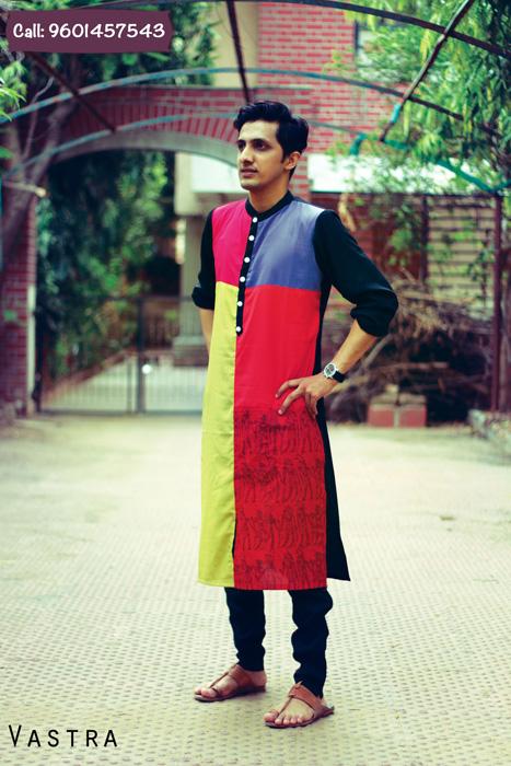 'Hatke' Kurtas for men to adorn this Navratri by VASTRA
