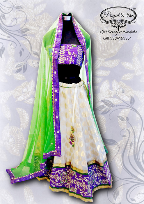 Gorgeous Festive Wear by PAYAL & PAM at Times Gehena