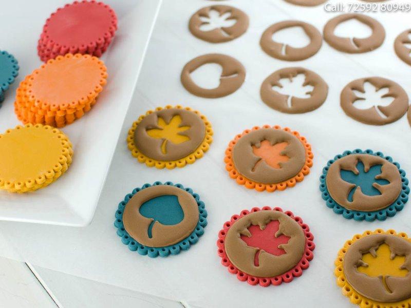 Vegan Fondant Cupcake Decor @ Bloom & Grow