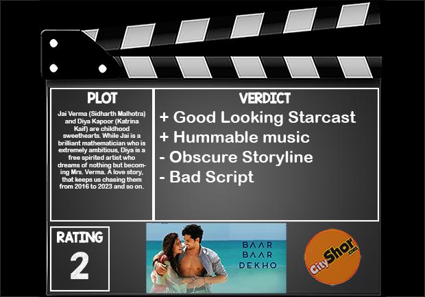 Movie Review - Baar Baar Dekho