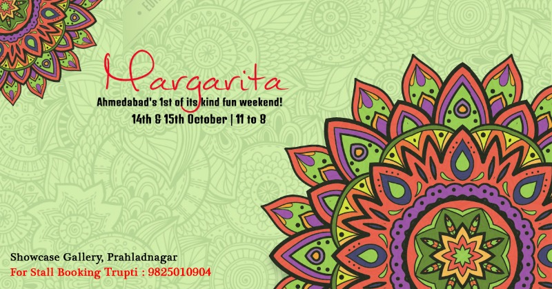 Book your space & enhance your brand at MARGARITA by Trupti