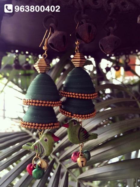 Handmade, Waterproof Paper Jewellery by ANUKUNJ