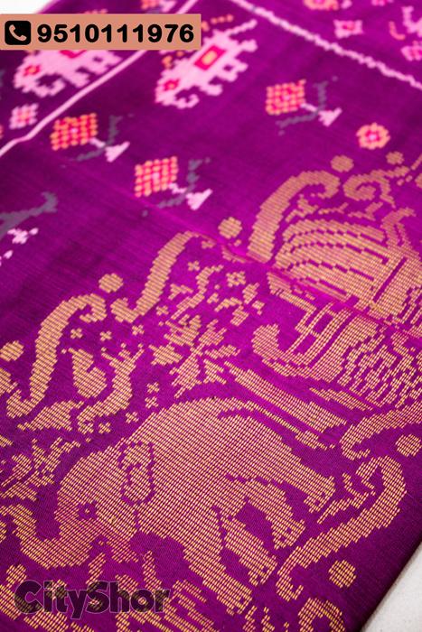 Real Patola Silk Dupattas & more at SINDHOI PATOLA ART
