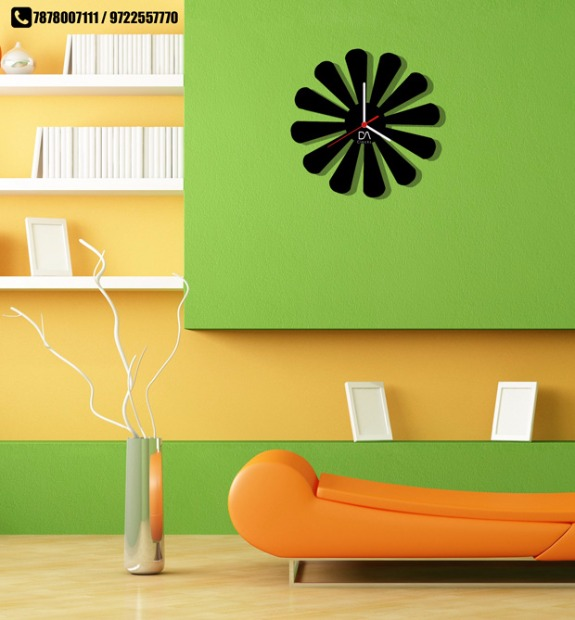 tie your home together with customized clocks by da clocks