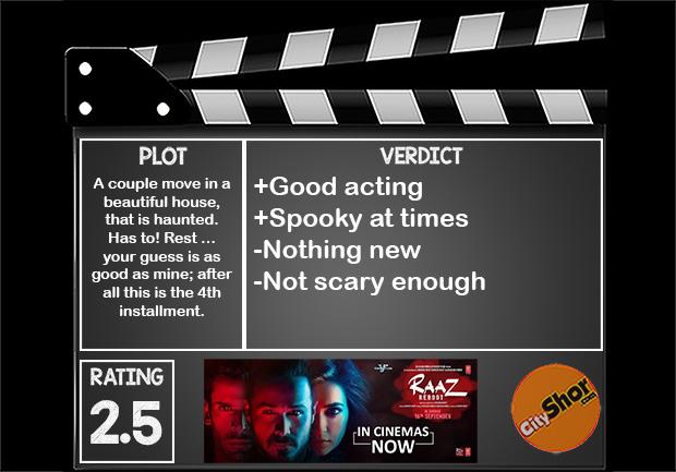 Movie Review - Raaz Reboot